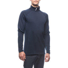 Houdini Wooler Half Zip Sweater Herr blue illusion/blue